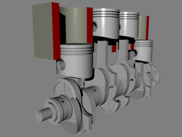 thesis on ic engine piston Piston features include the piston head, piston pin bore, piston pin, skirt, ring grooves, ring lands, and piston rings the piston head is the top surface (closest to the cylinder head) of the piston which is subjected to tremendous forces and heat during normal engine operation.